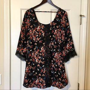 Socialite Floral Dress
